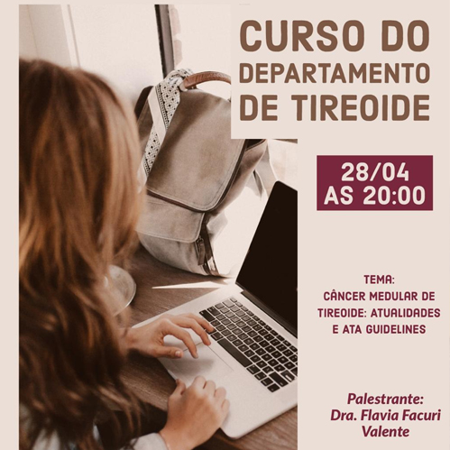 Curso do Departamento de Tireoide